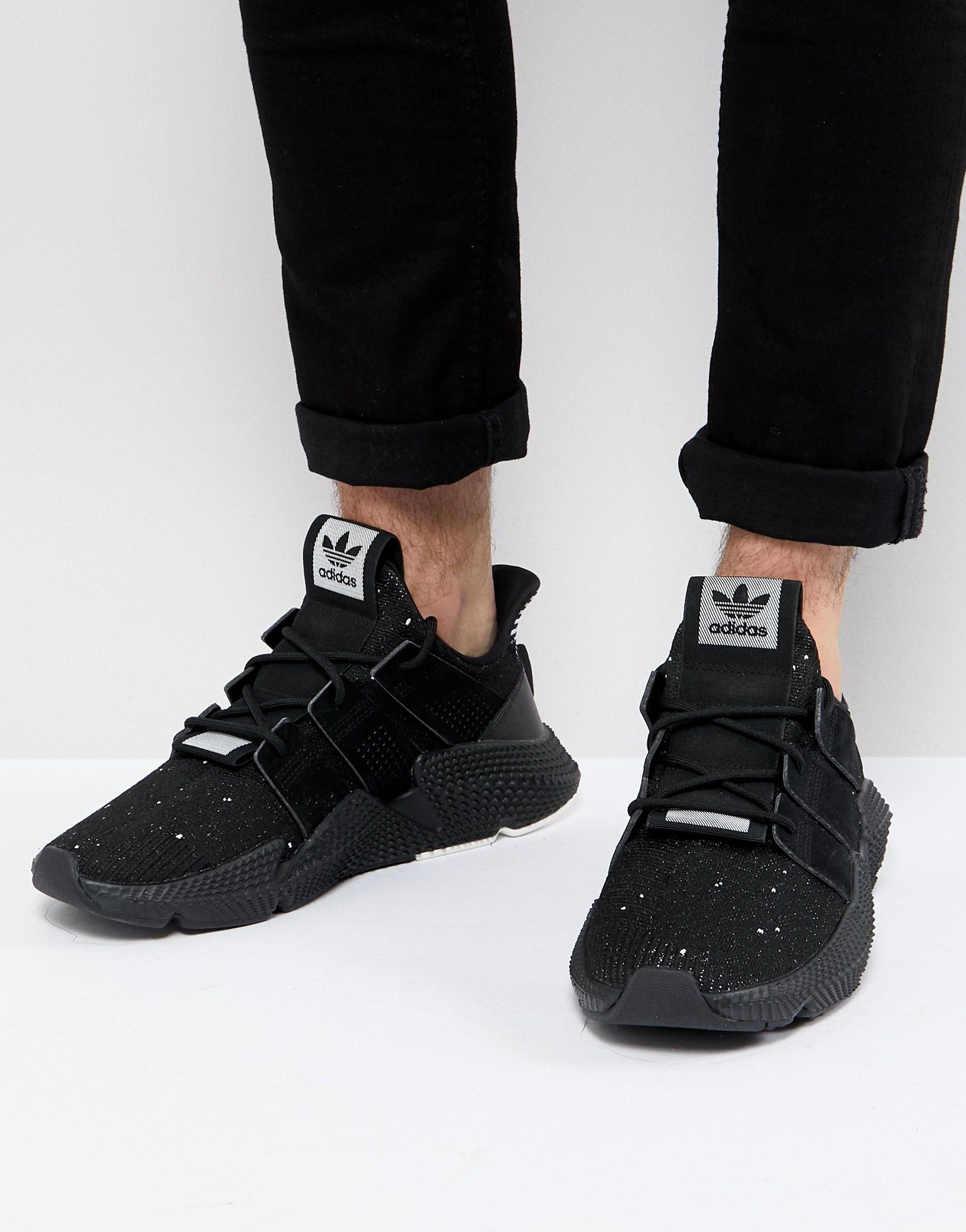 adidas Originals Prophere Sneakers in Black for Men - Lyst