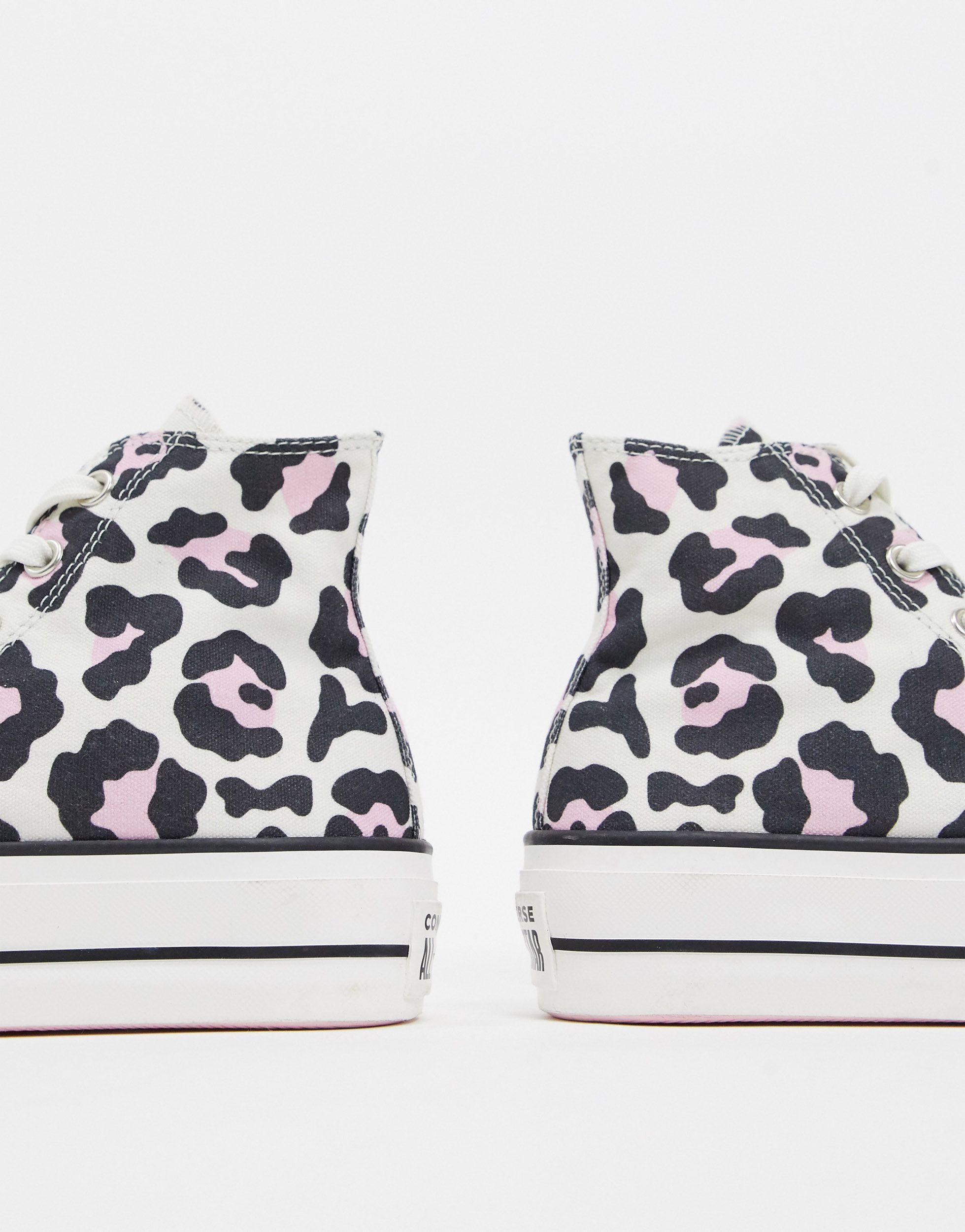 Leopard Print Chuck Taylor Sneakers