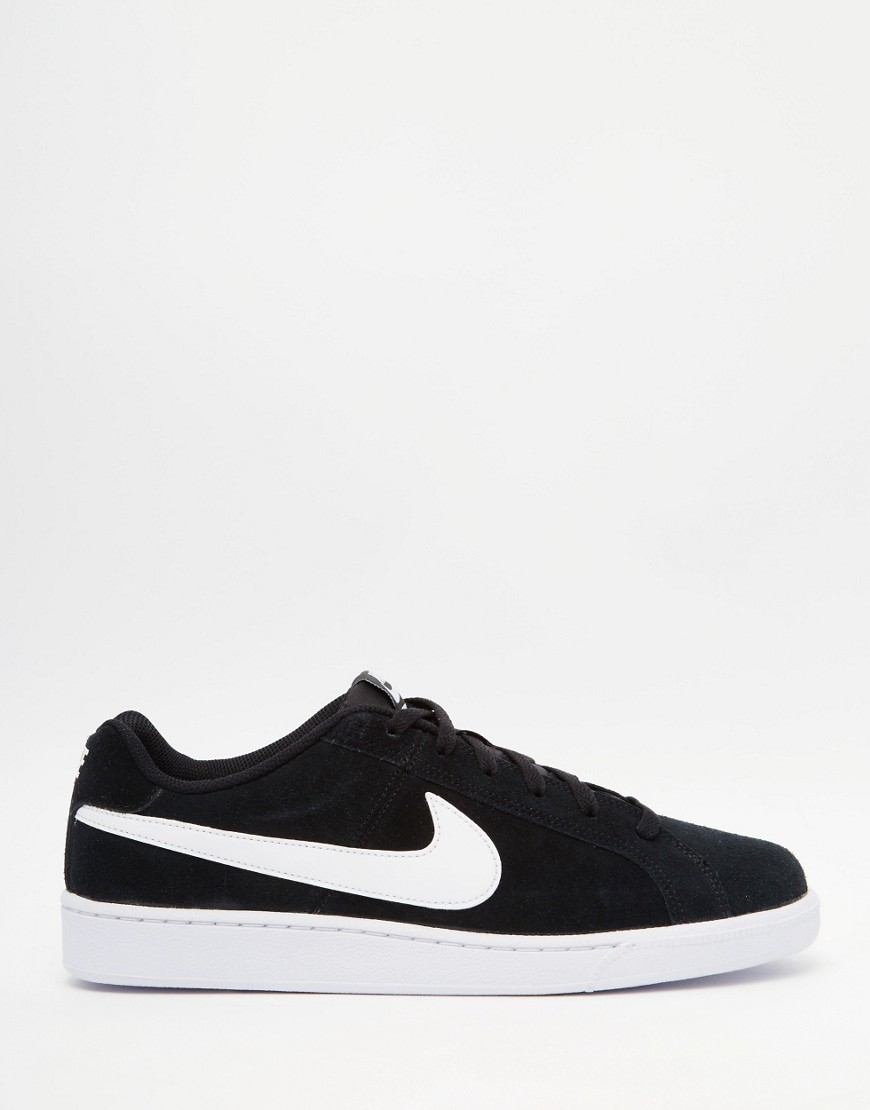 Nike Court Royale Suede Trainers 819802-011 in Black for Men