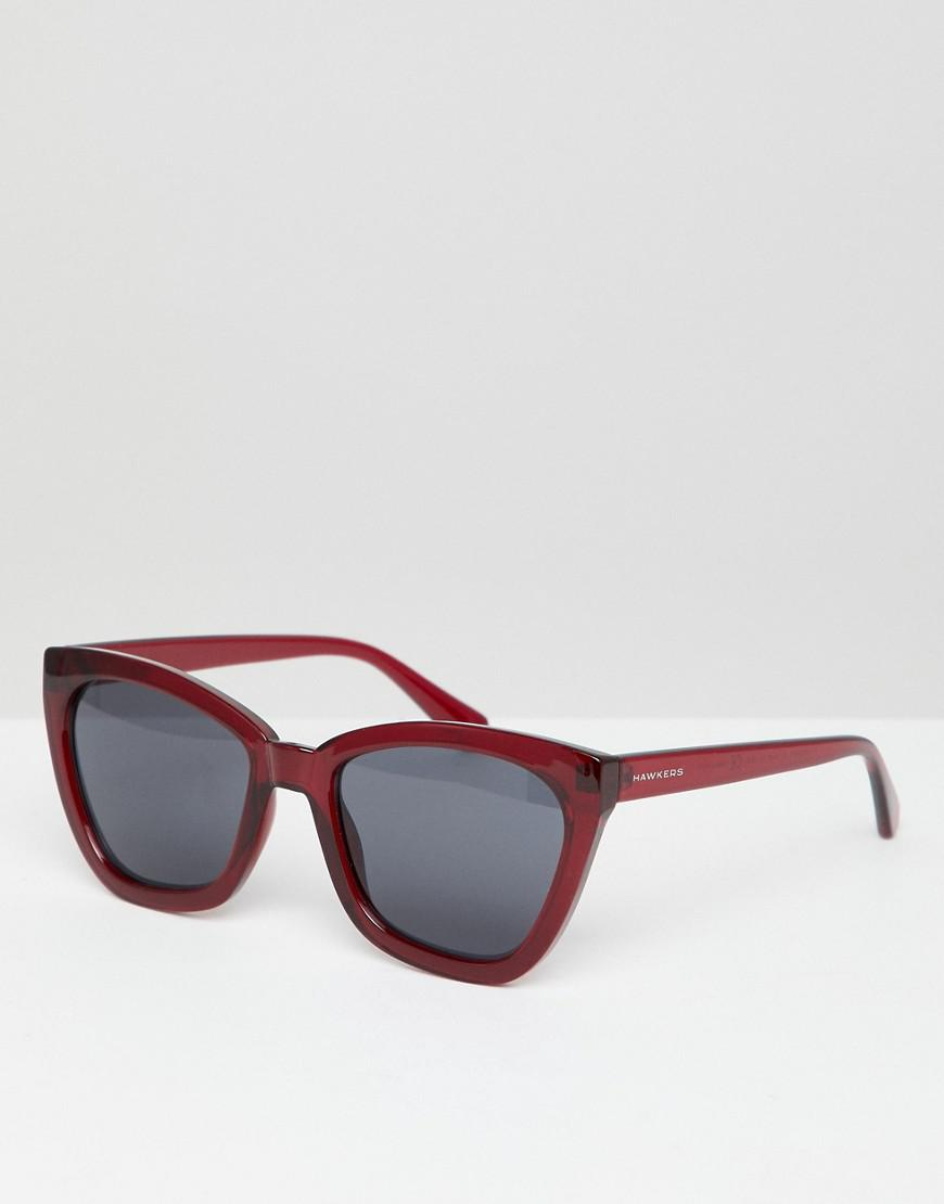 fb9982bae5 Lyst - Hawkers Hawkers Melrose Square Sunglasses In Red in Red for Men