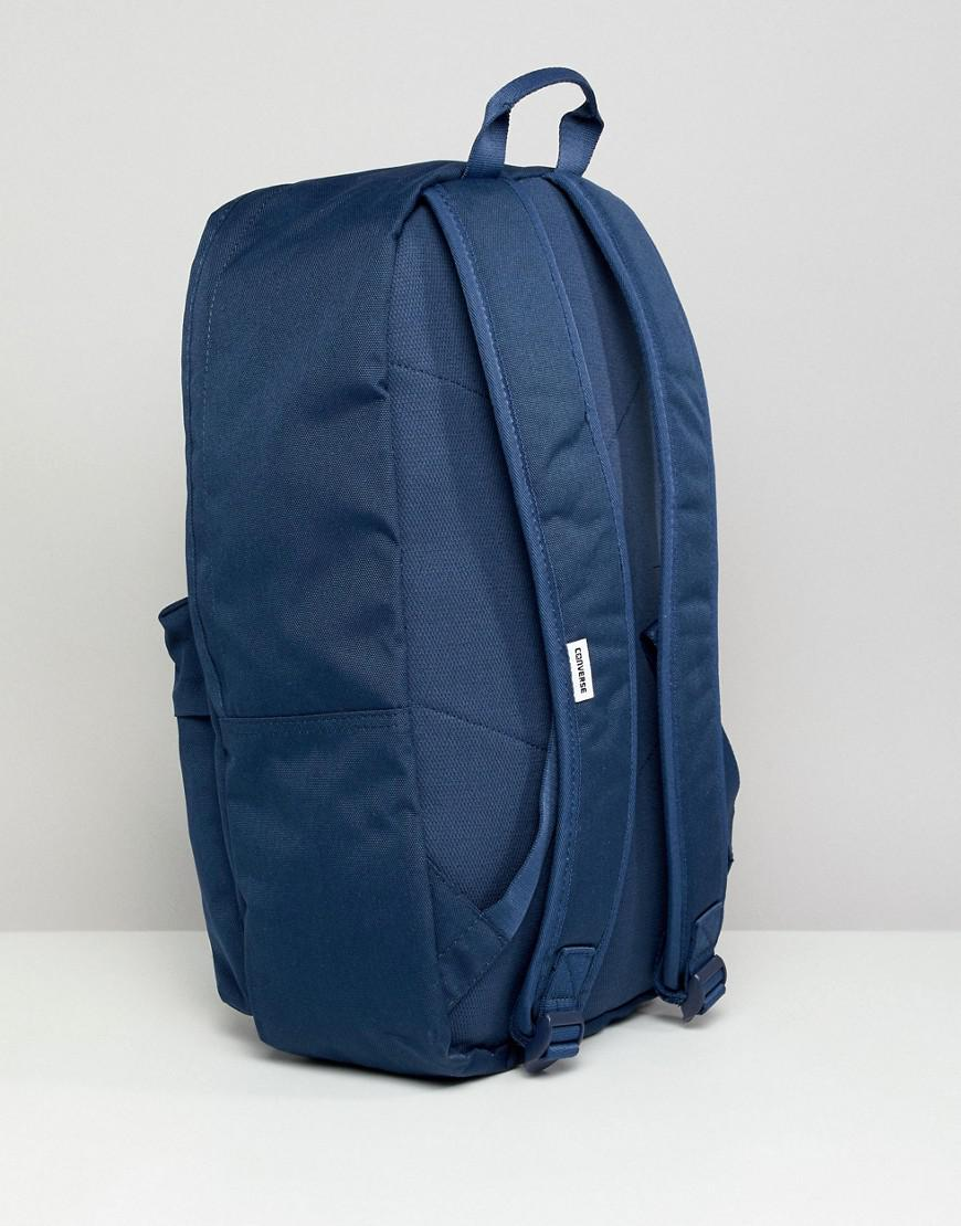 5c357a744847 Converse Backpack In Navy 10003329-a02 in Blue for Men - Lyst