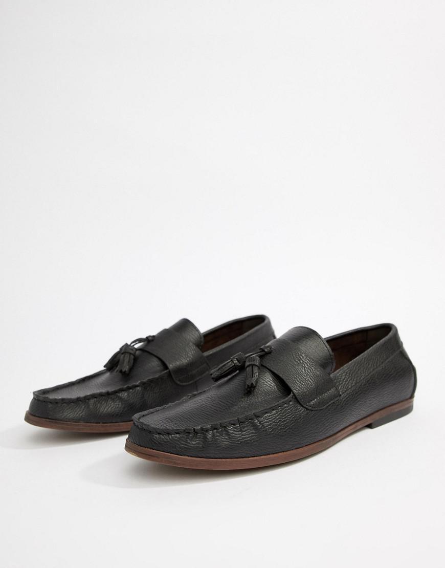 Faux Leather Loafers In Dark Brown - Dark brown New Look TlkqpM