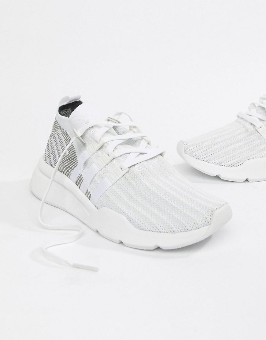 official photos 8ecc0 e274c Adidas Originals - Eqt Support Mid Adv Trainers In White Cq2997 for Men -  Lyst. View fullscreen