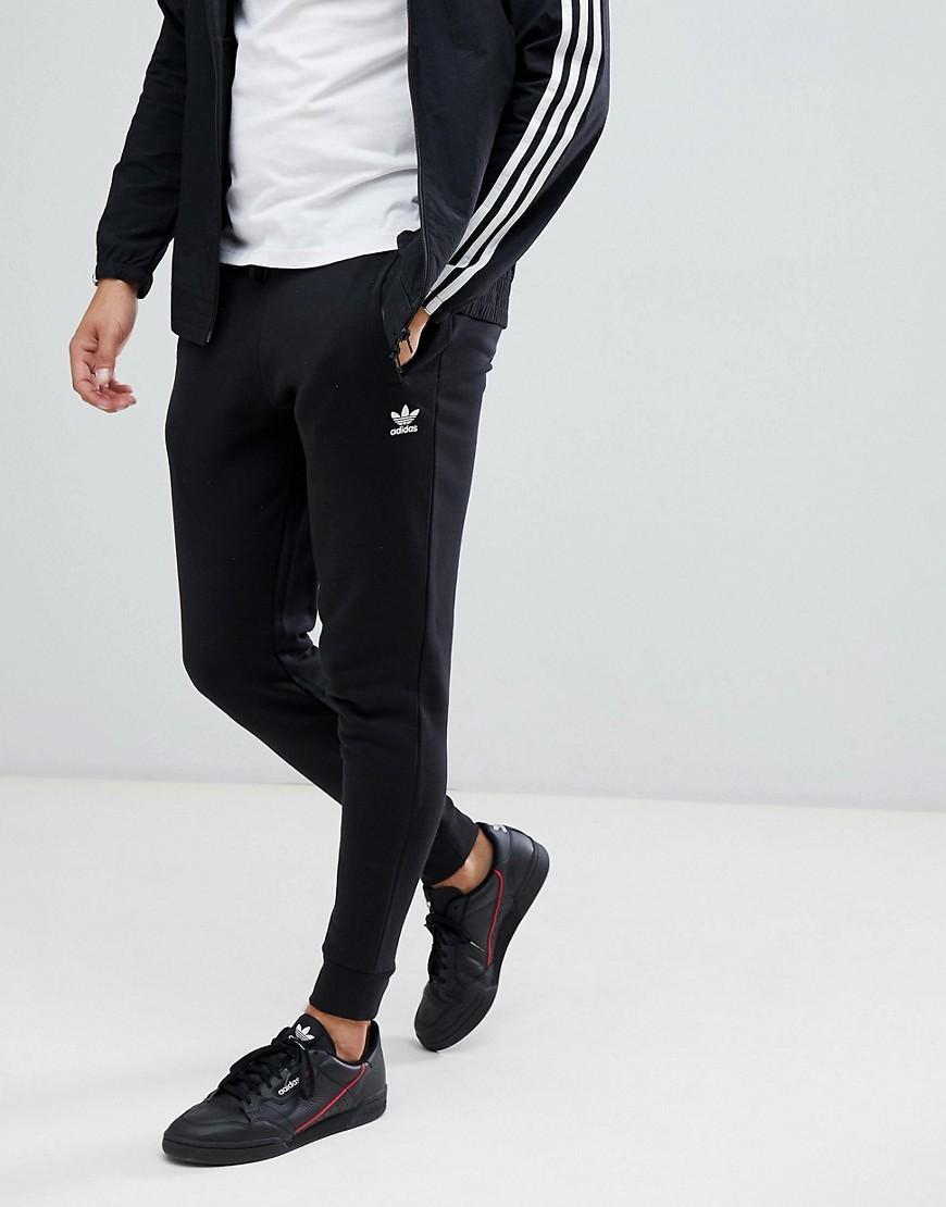53f6f6d48b45 Lyst - adidas Originals Premium Skinny Joggers In Black Dn6009 in ...