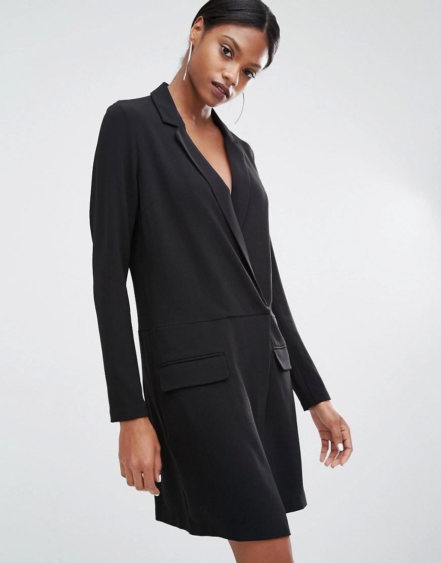 Lyst Y A S Mila Blazer Dress In Black