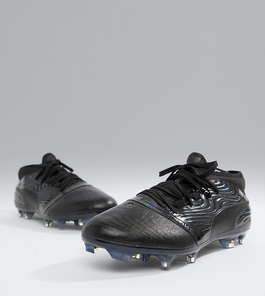 daccd53d0c1b PUMA One 18.2 Fg Football Boots in Black for Men - Lyst