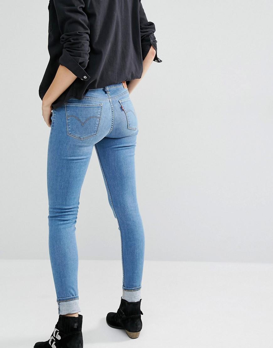Super Blue Spirit Innovation Mid Song Levi's Jeans Skinny Rise vf7y6IYbg