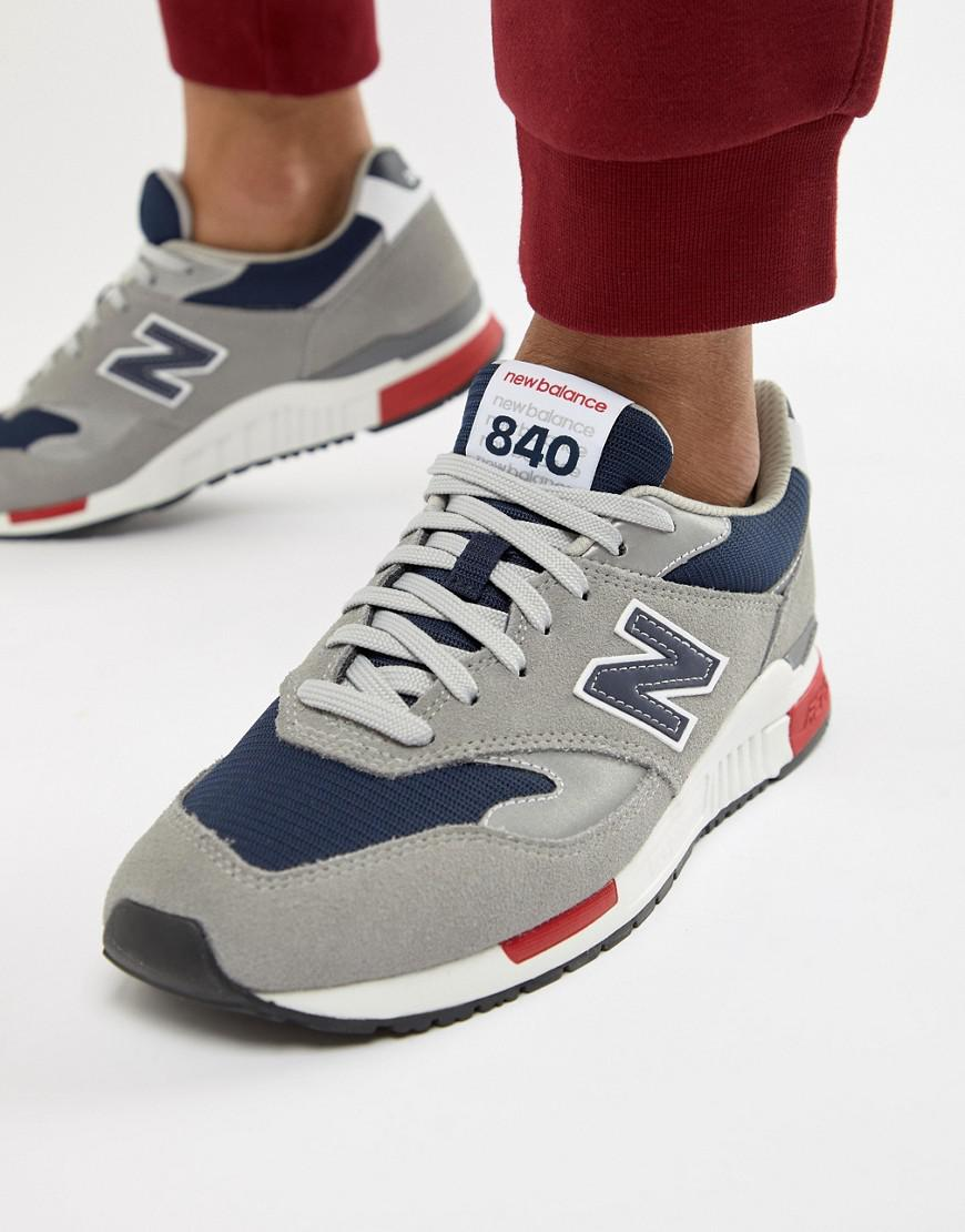 top design super specials value for money 840 Suede And Mesh Trainers