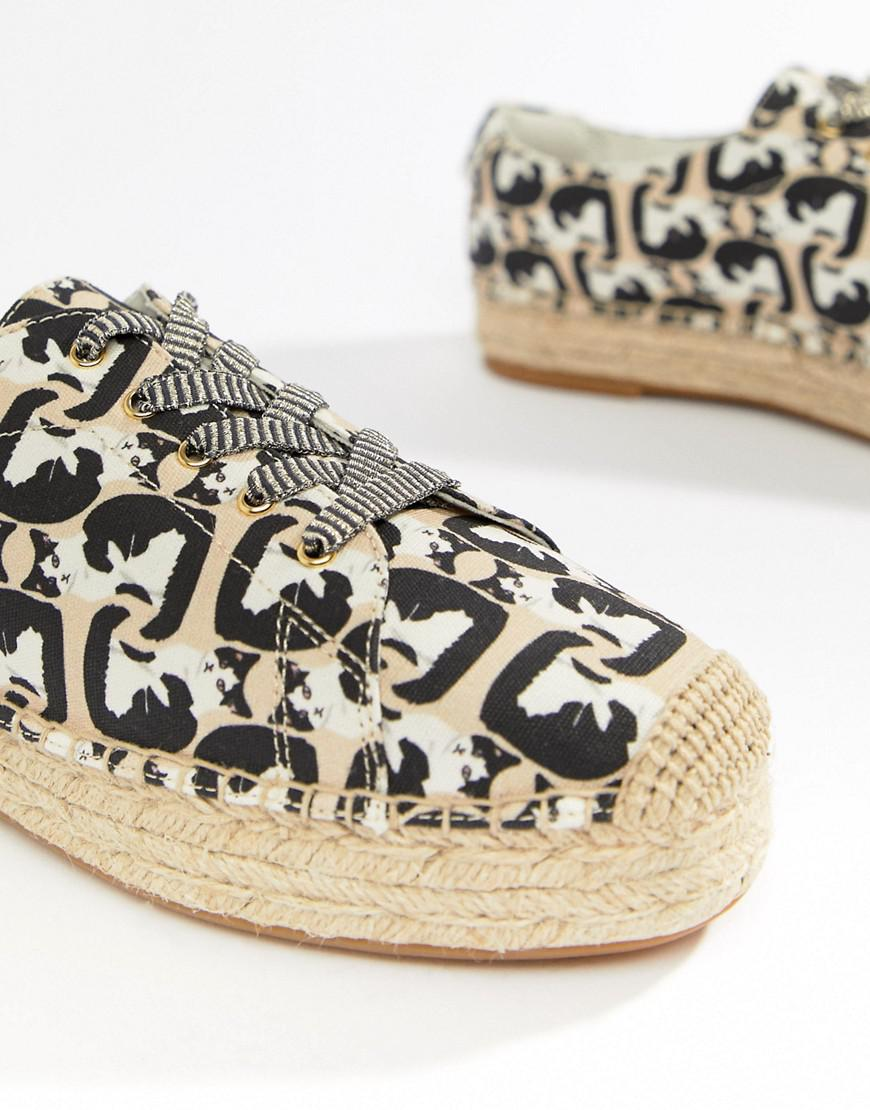 Paul & Joe Sister Cat Print Espadrilles F9w52oRAdM