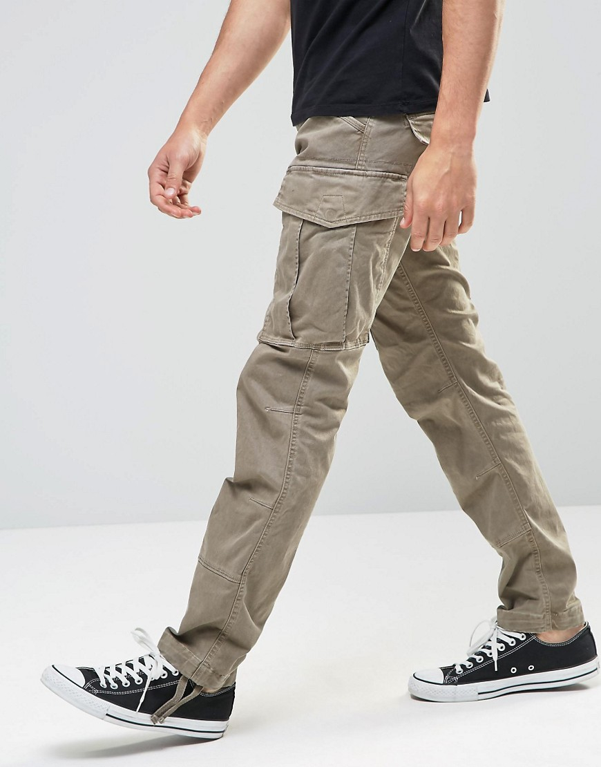 g star raw cargo trousers rovic slim fit stretch twill. Black Bedroom Furniture Sets. Home Design Ideas