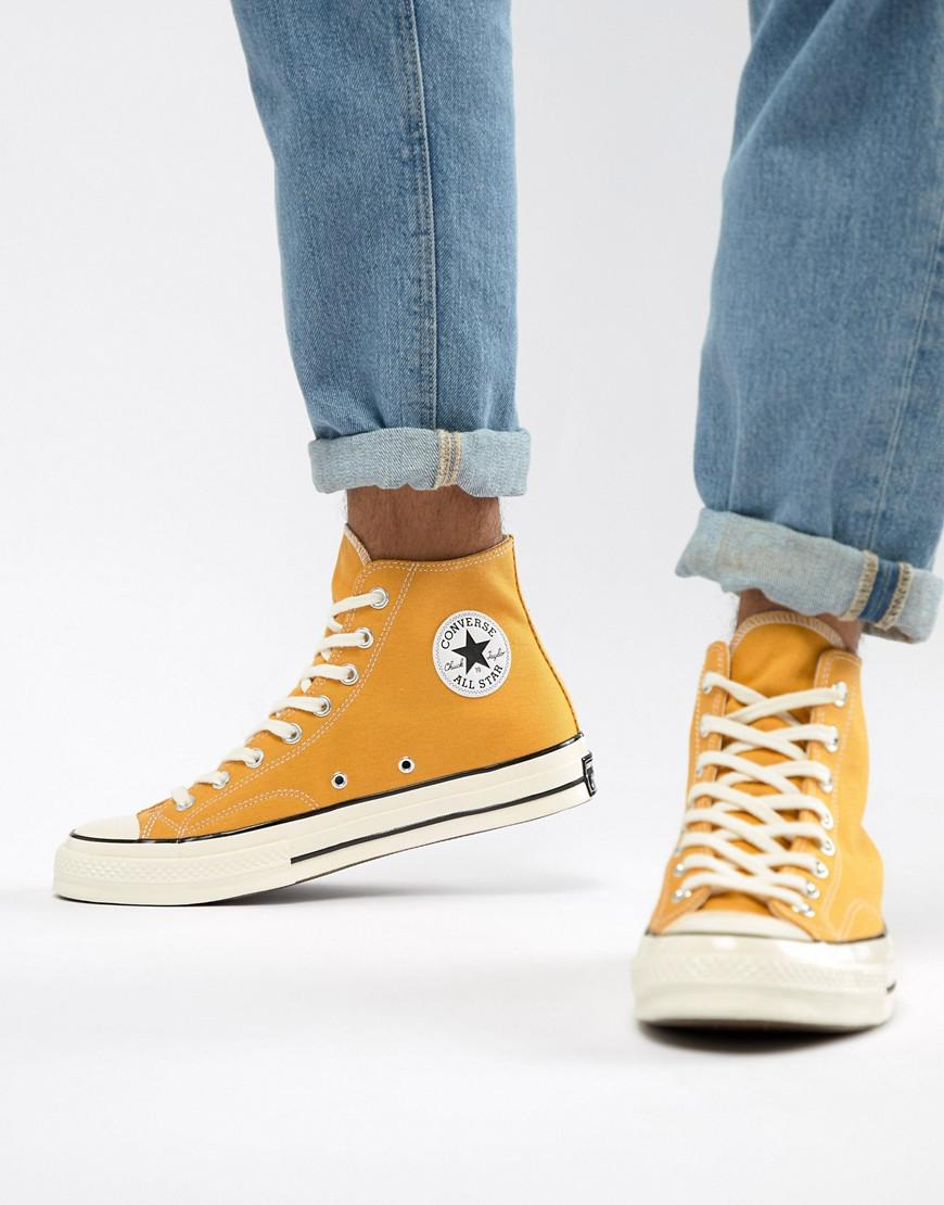 cfaa093f1f1c Converse - Chuck Taylor All Star  70 Hi Sneakers In Yellow 162054c for Men  -. View fullscreen