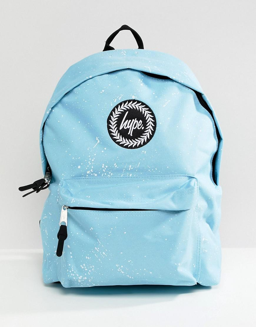 df9750224bbe Lyst - Hype Backpack In Blue Speckle Print in Blue for Men