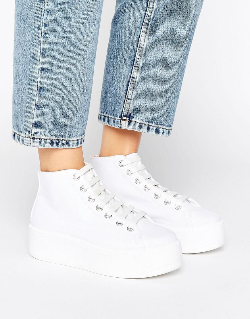 asos high top sneakers