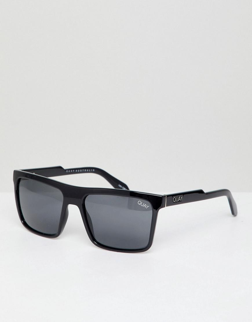 Let It Run Square Sunglasses In Tort - Tort Quay Eyeware Hd2XaisY