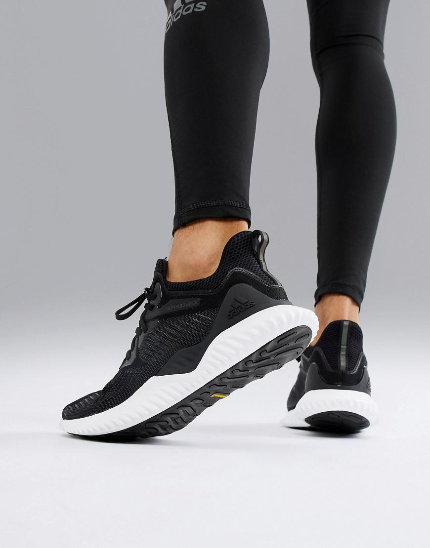 Running Alphabounce Beyond Sneakers In Black Ac8273