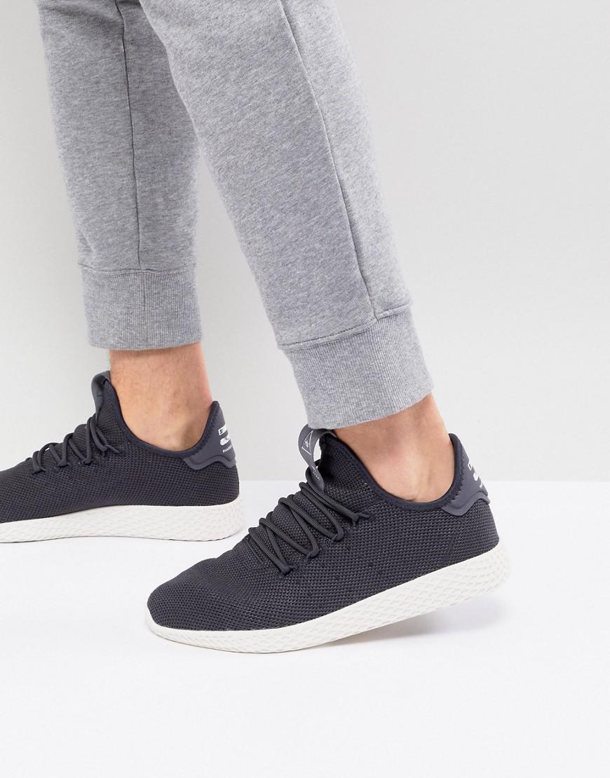 369c32437 adidas Originals X Pharrell Williams Tennis Hu Sneakers In Gray ...
