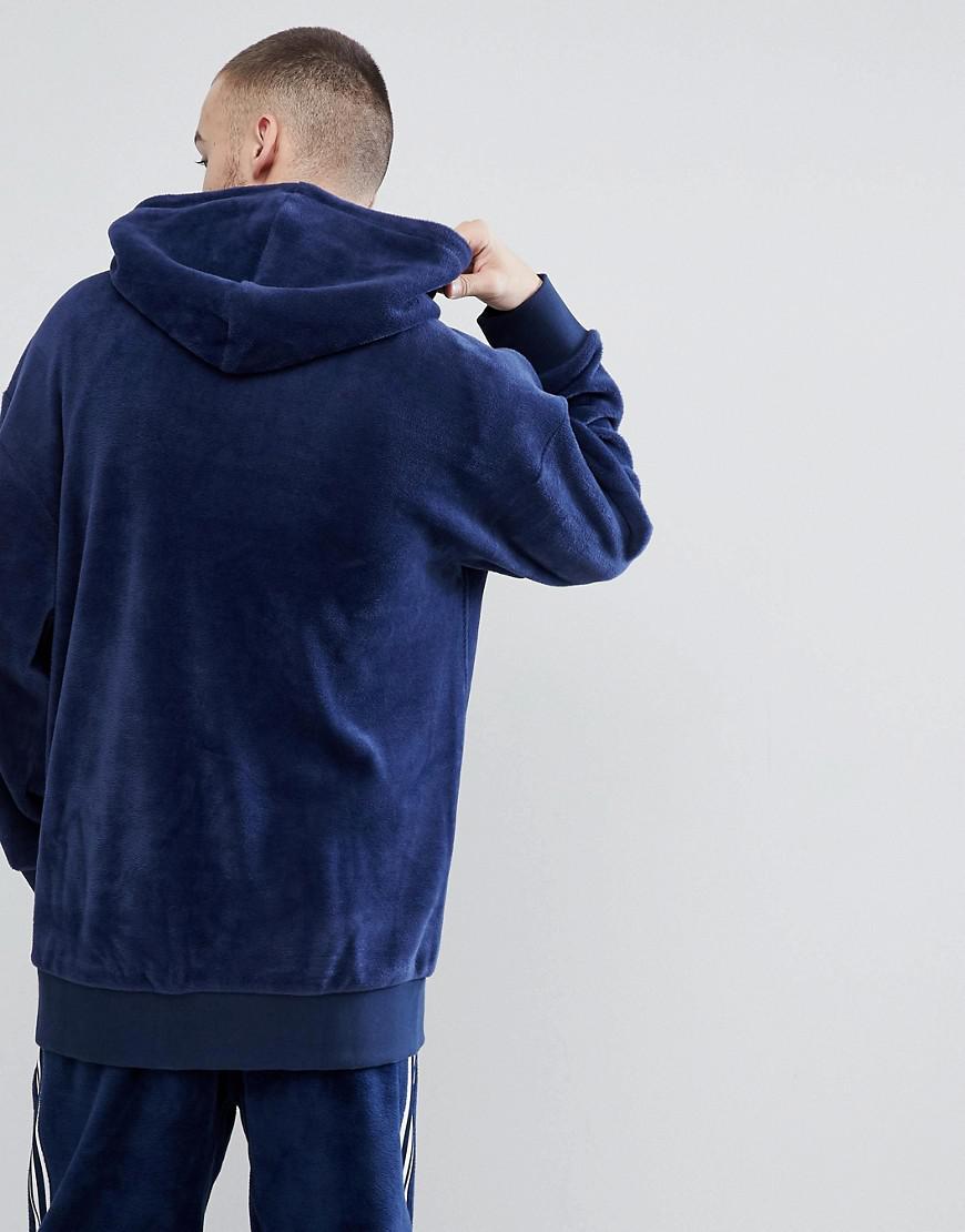adidas hoodie velvet