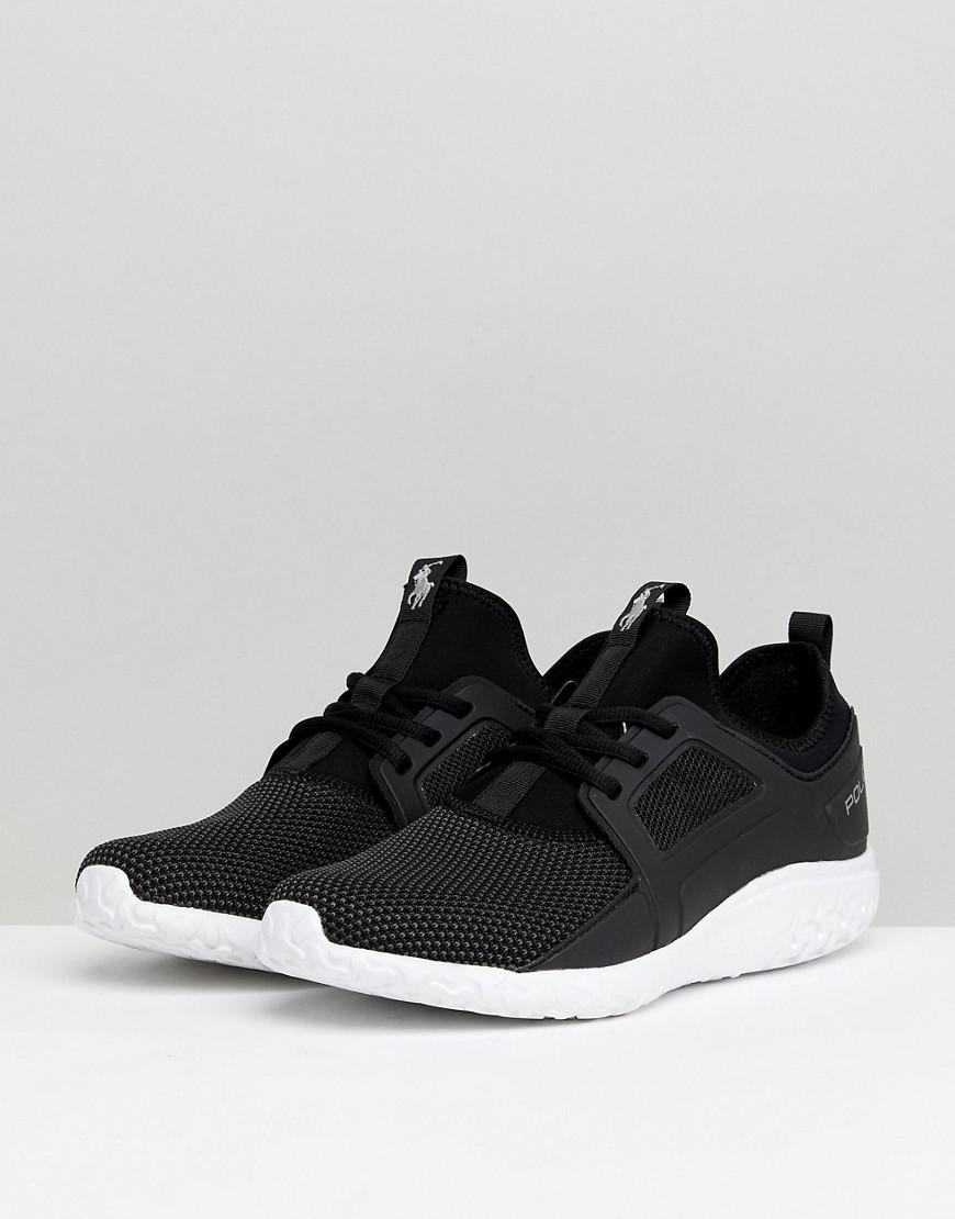 128a1f63a34 Polo Ralph Lauren Performance Train 150 Trainers Mesh Neoprene Mix In Black  in Black for Men - Save 26% - Lyst
