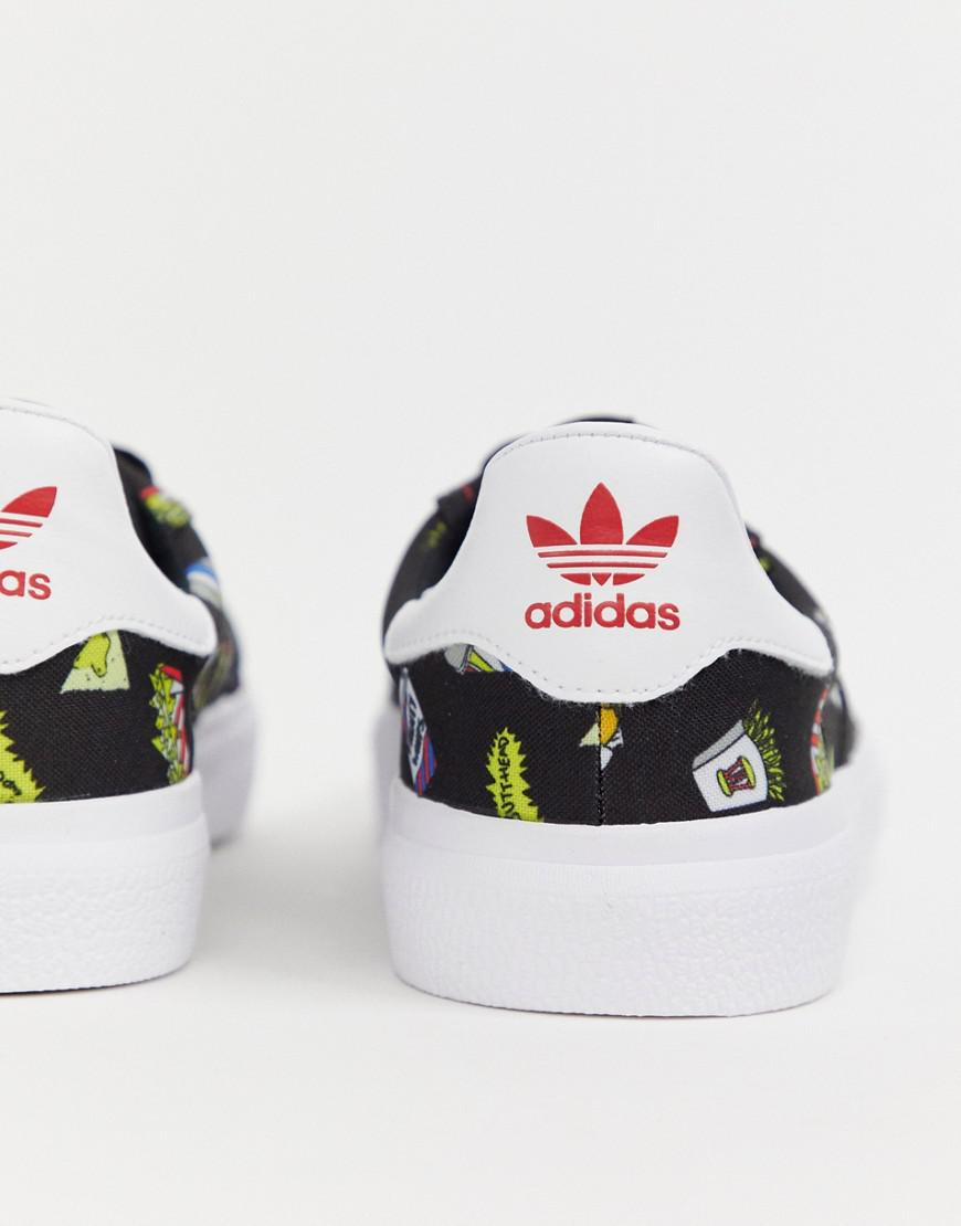 timeless design 4ffc3 bab15 Lyst - adidas Originals Beavis And Butthead 3mc Sneakers Bd7861 in Black  for Men