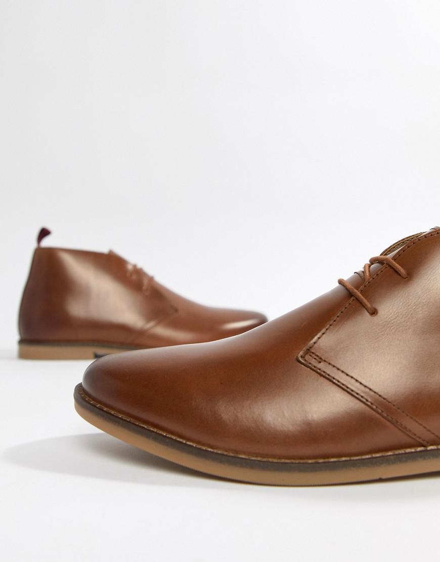 Kurt Geiger Porter Desert Boots in Tan