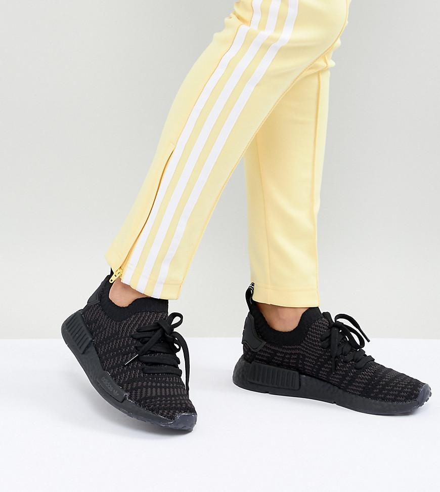 Nmd R1 Trainers In All Black