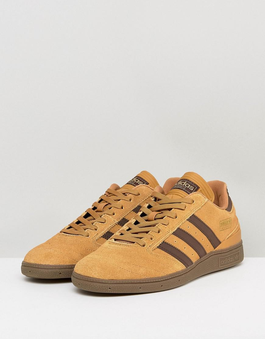 0fa02c4eed3638 Lyst - adidas Originals Busenitz Trainers In Yellow By3966 in Yellow ...