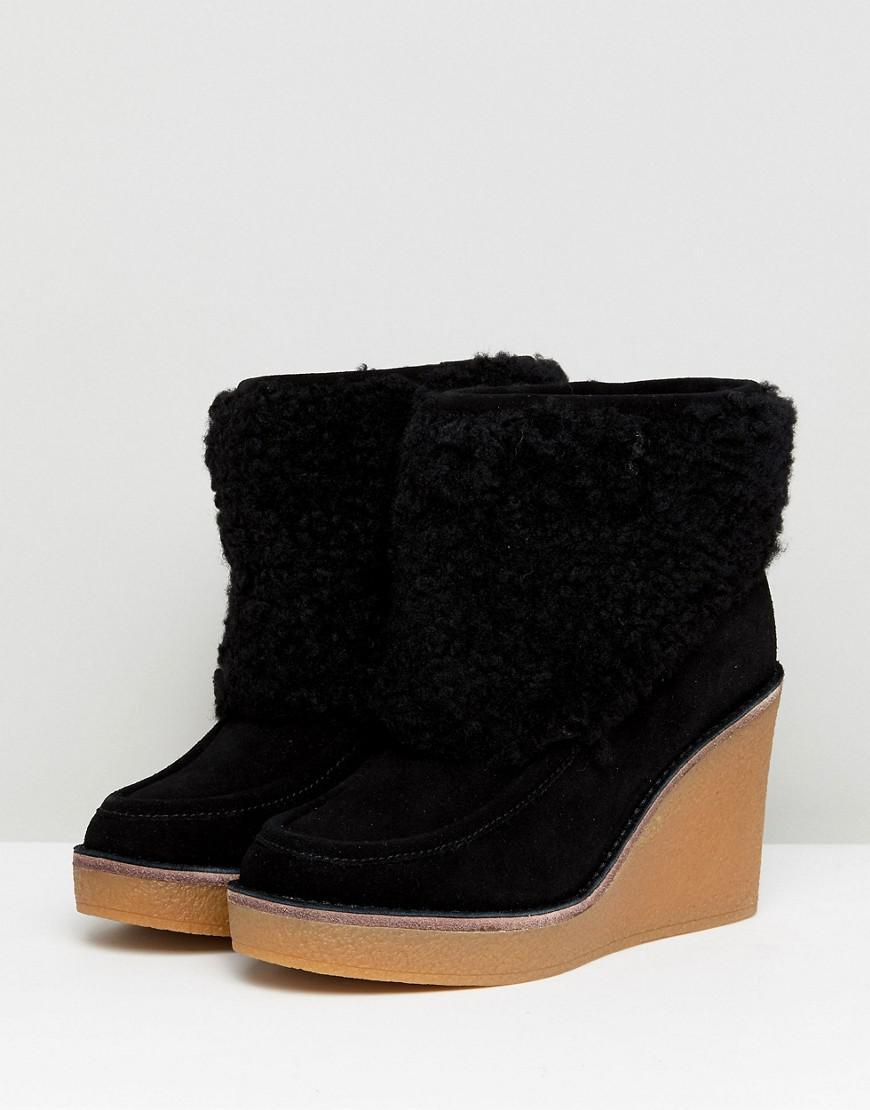 cb59692f01a UGG Coldin (black) Boots - Lyst