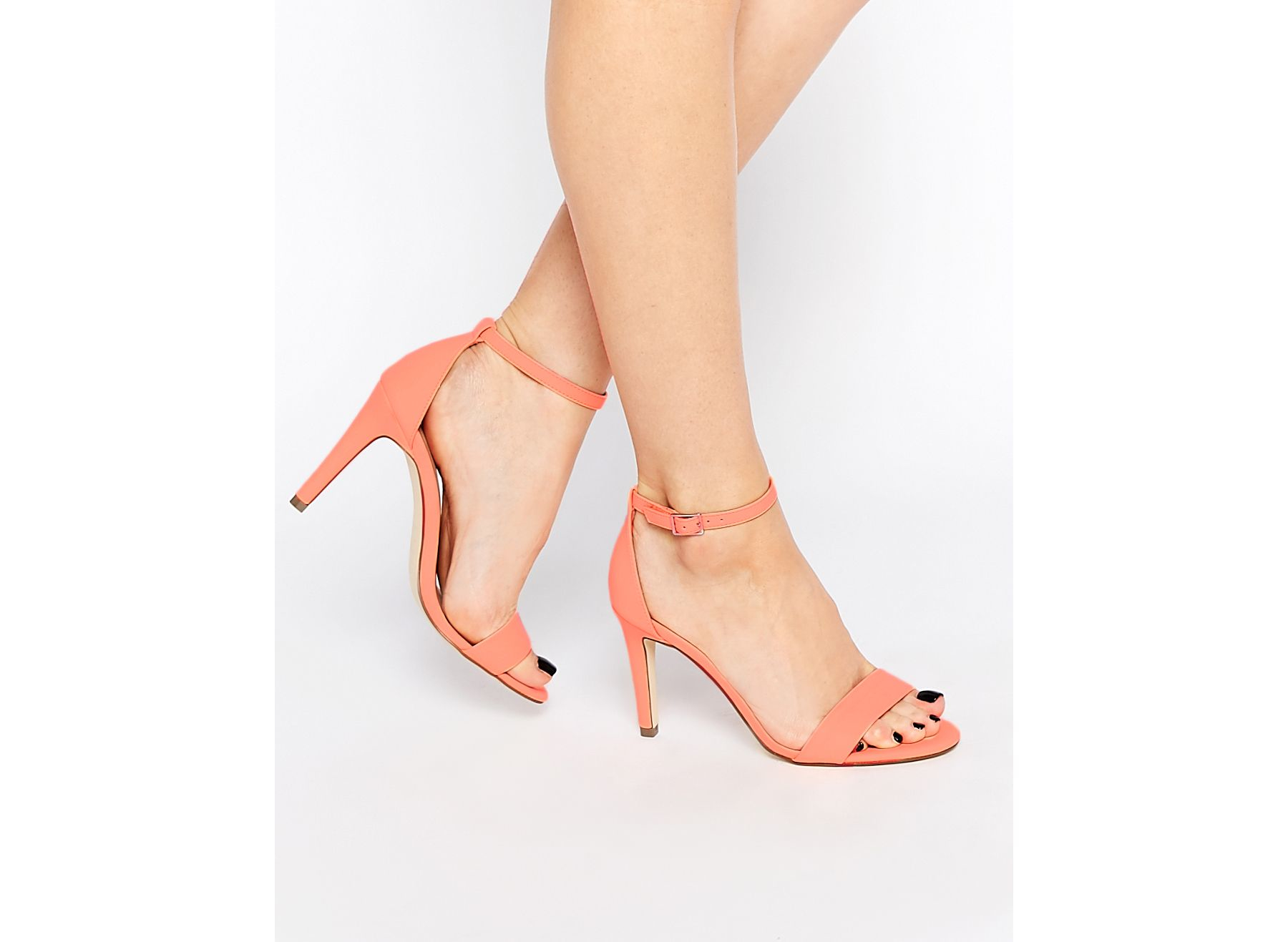 Call It Spring Waylanda Pink Two Part Heeled Sandals In