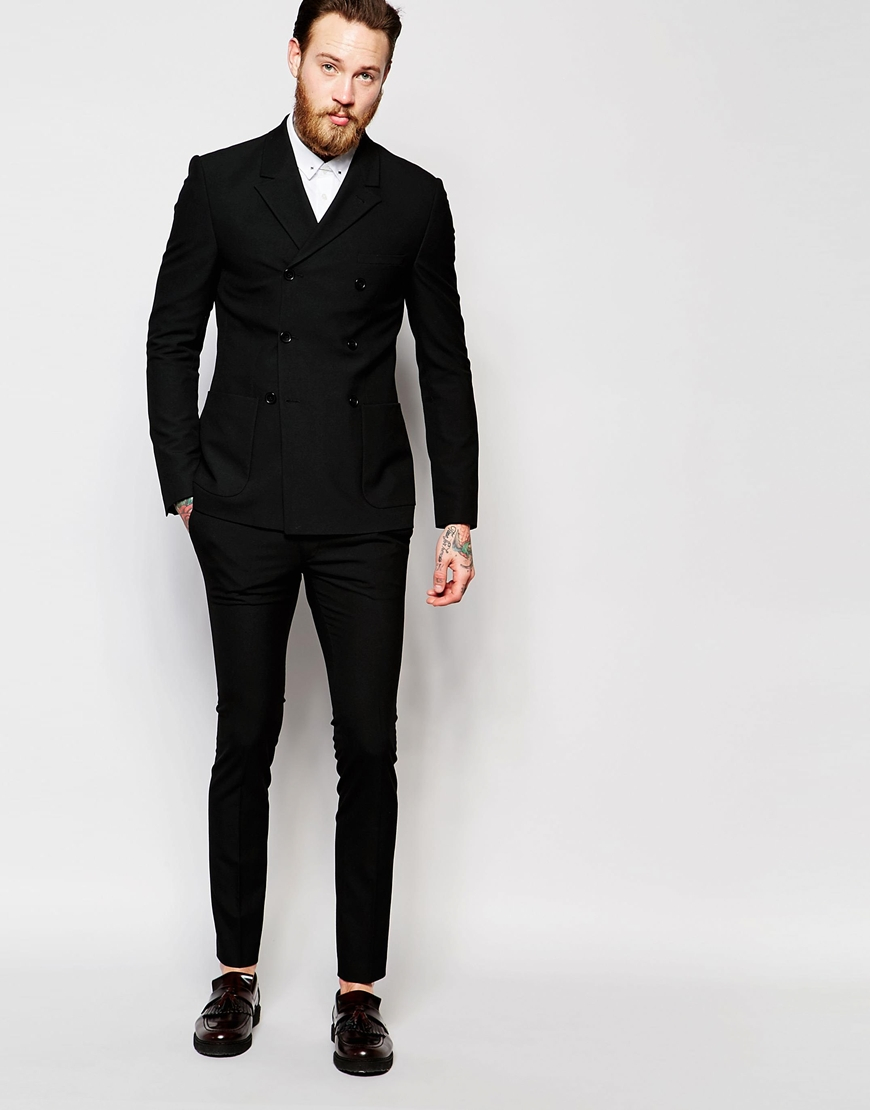 Discover men's Skinny fit suits with ASOS. From black skinny suits & gray suits. Choose between edgy suit jackets & suit pants with our mix & match options.