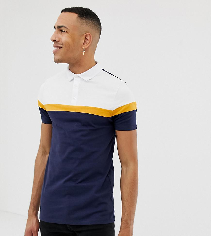 ba9ce5ccfff9 asos-navy-Tall-Polo-Shirt-With-Cut-And-Sew-Panels-In-Navy.jpeg