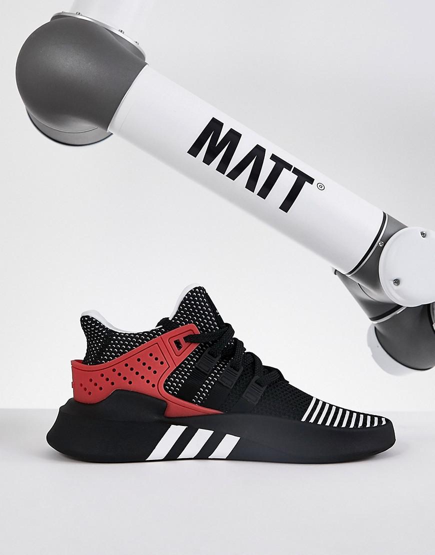 adidas originals eqt sich adv ausbilder in schwarz aq1013 in schwarz