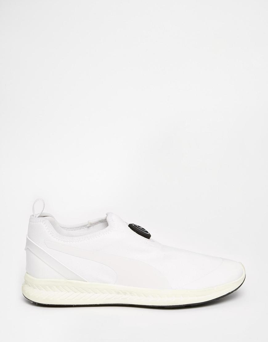 f8398e0d6c90e2 Lyst - PUMA Disc Sleeve Ignite Sneakers in White for Men