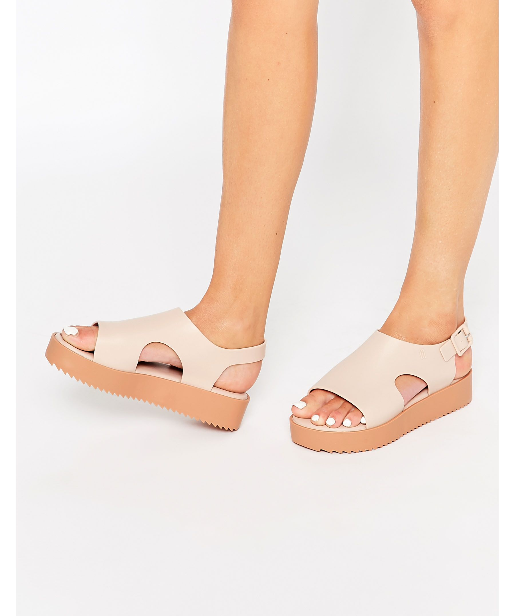 d65b27001768 Lyst - Melissa Nude Hotness Sandals in Pink