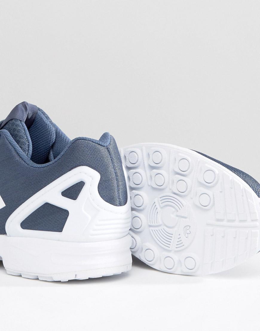 adidas Originals Zx Flux Em Sneakers in Grey (Grey) for Men