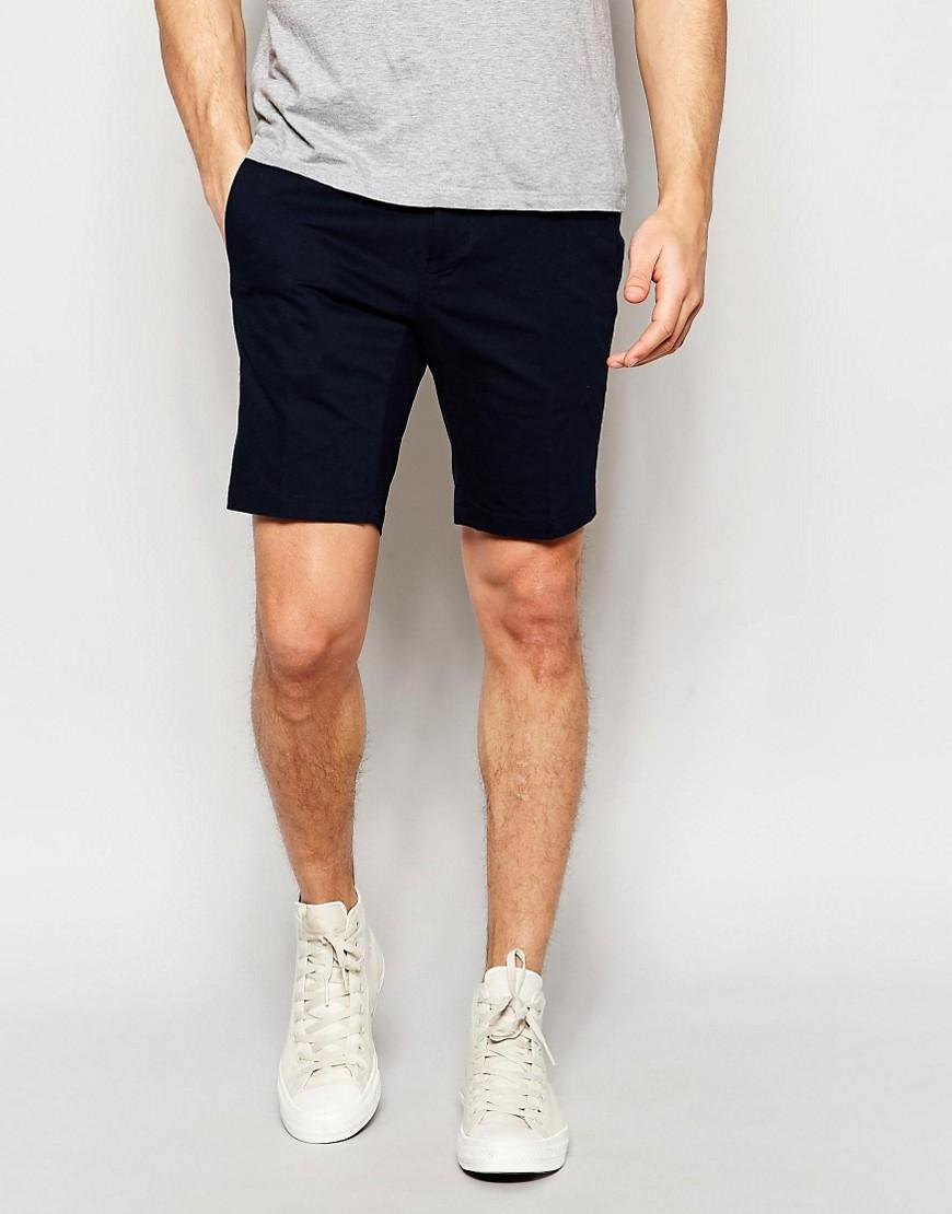 Vito Cotton Formal Shorts In Black For Men | Lyst