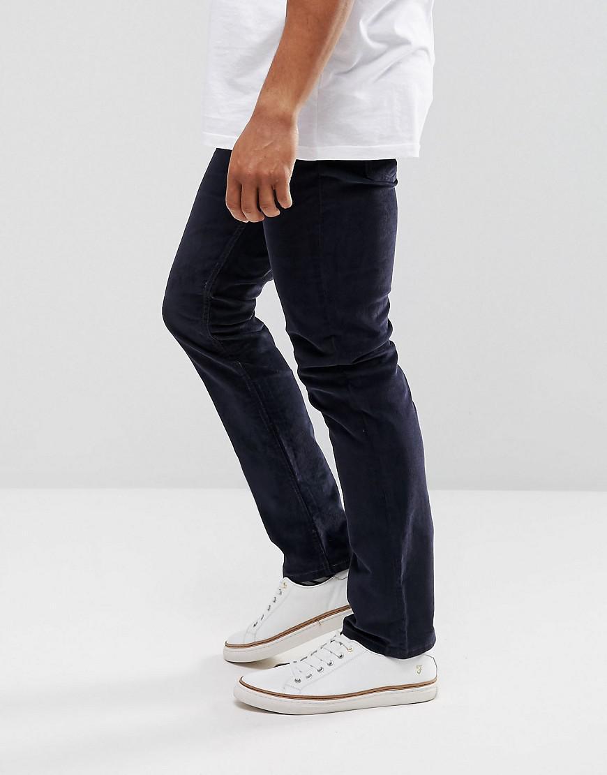 f68e86d231e2 Levi s 511 Slim Fit Cord Trouser Nightwatch Blue in Blue for Men - Lyst