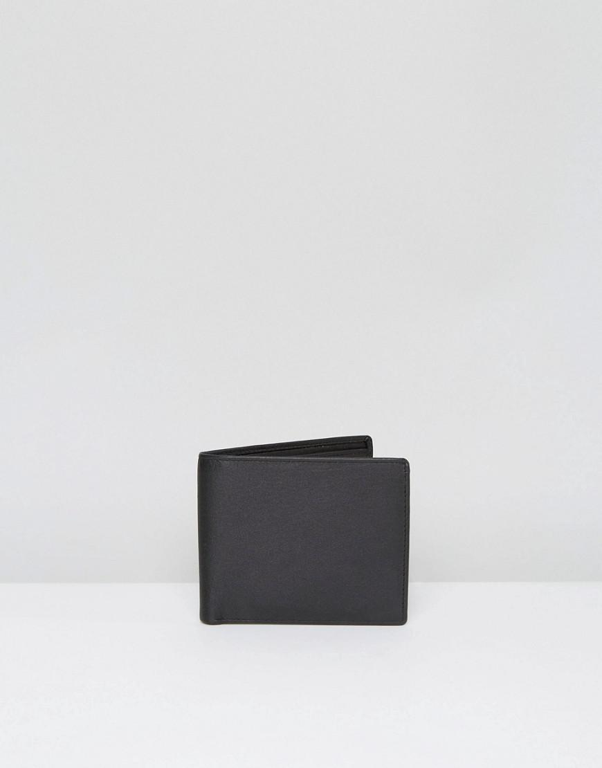 Systvm Classic Leather Wallet In Black For Men Lyst