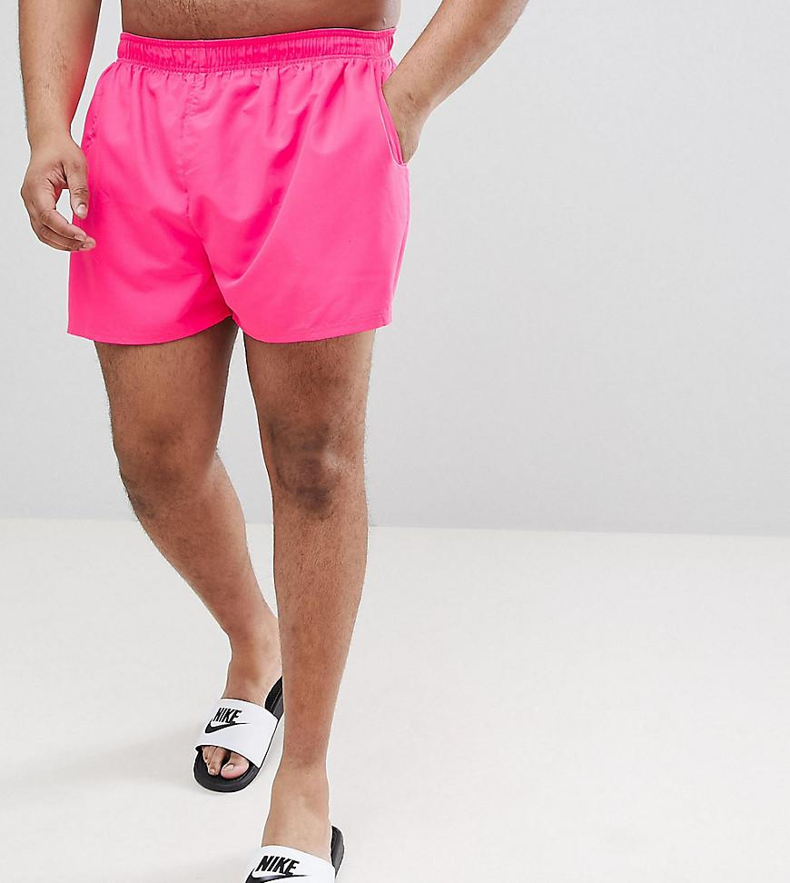 d9e472f1095 Nike Nike Plus Exclusive Volley Swim Short In Pink Ness8830-678 in ...