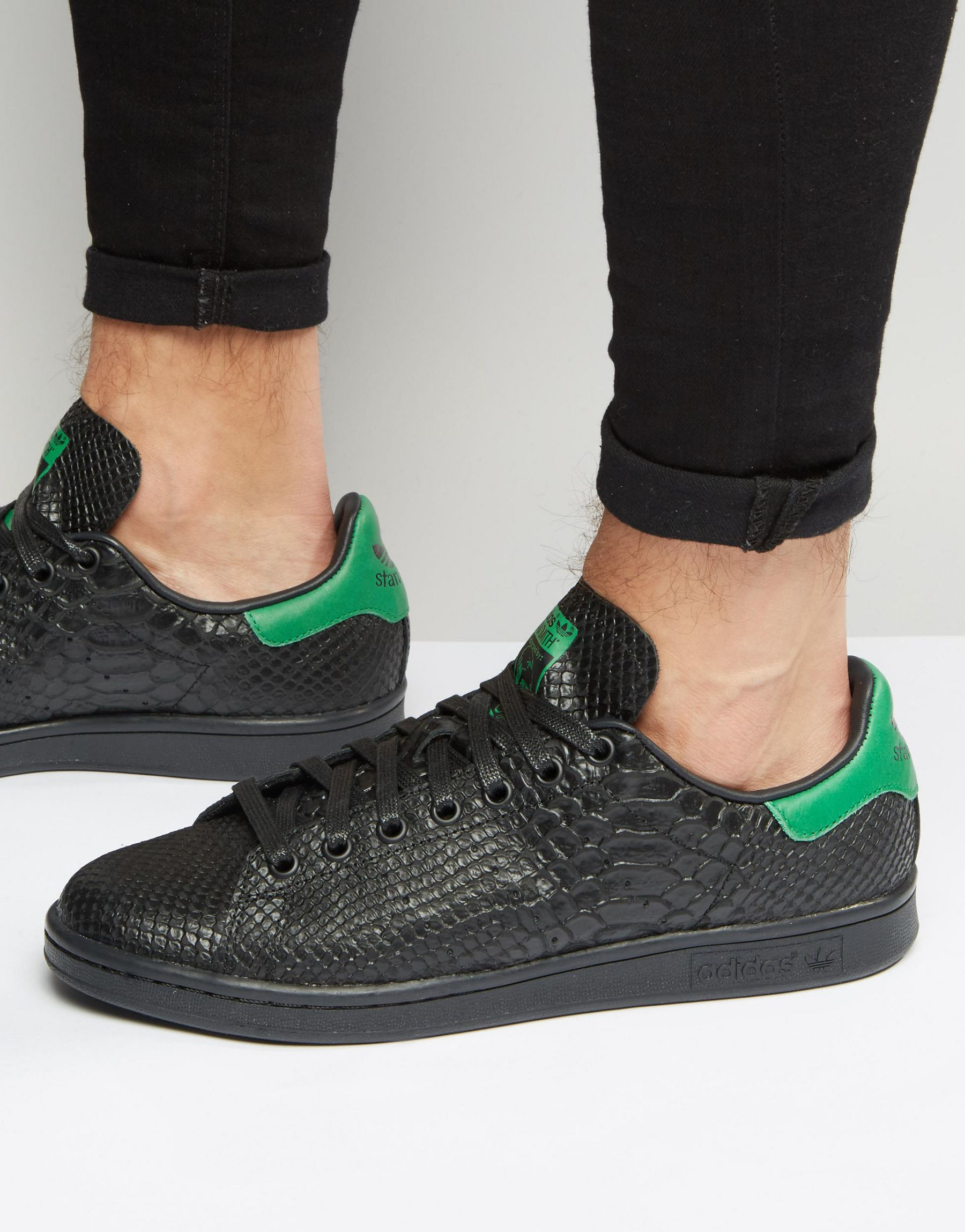 Framgång by krans  adidas stan smith green snake | Great Quality. Fast Delivery ...