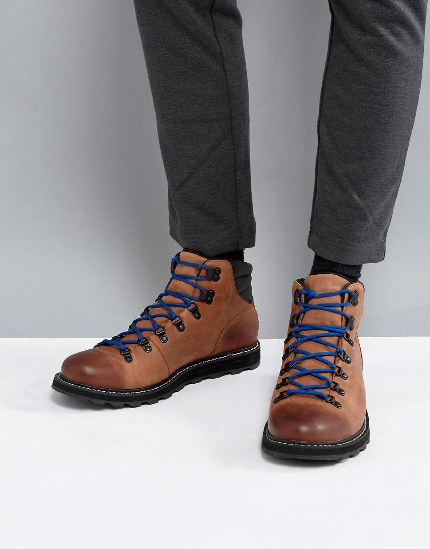 6703ffc5733 Sorel Madson Waterproof Hiking Boots In Brown for men