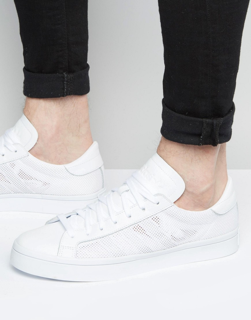Court Vantage Trainers In White S76659