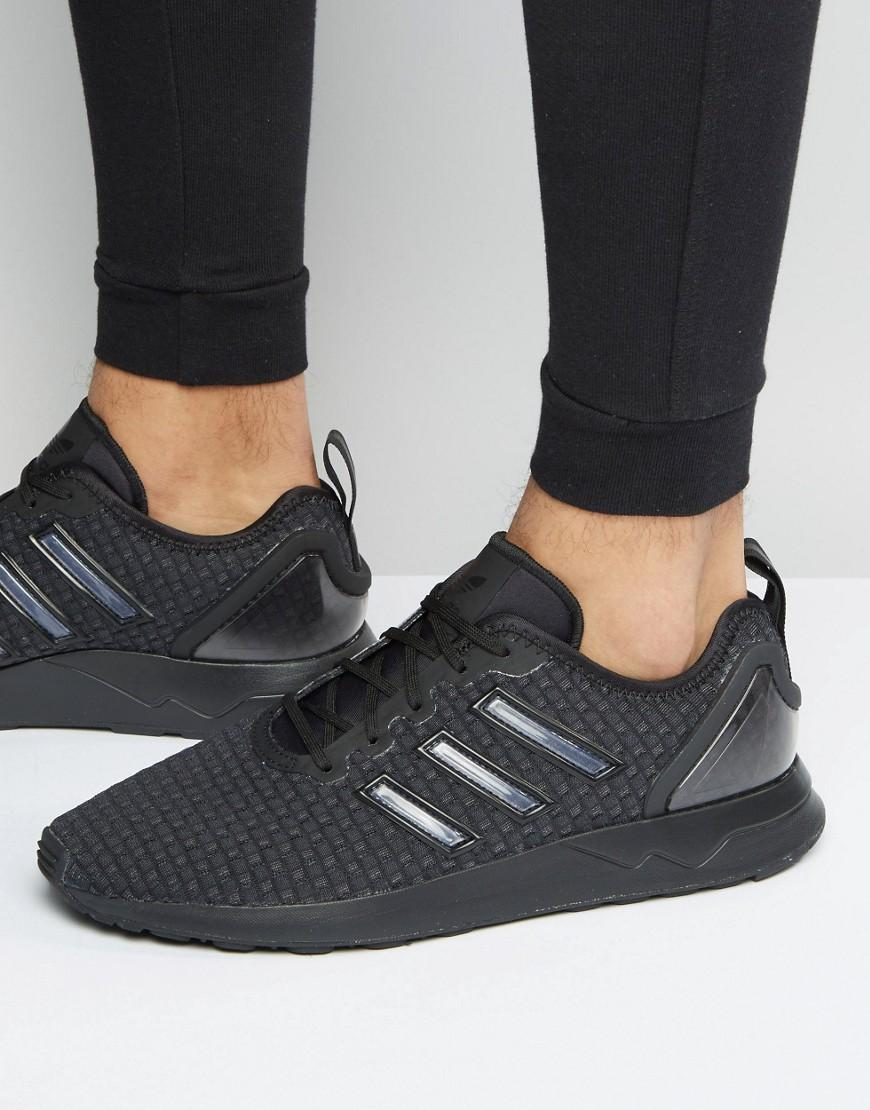 a3419981248b1 Lyst - adidas Originals Zx Flux Adv Sneakers In Black S76548 in ...
