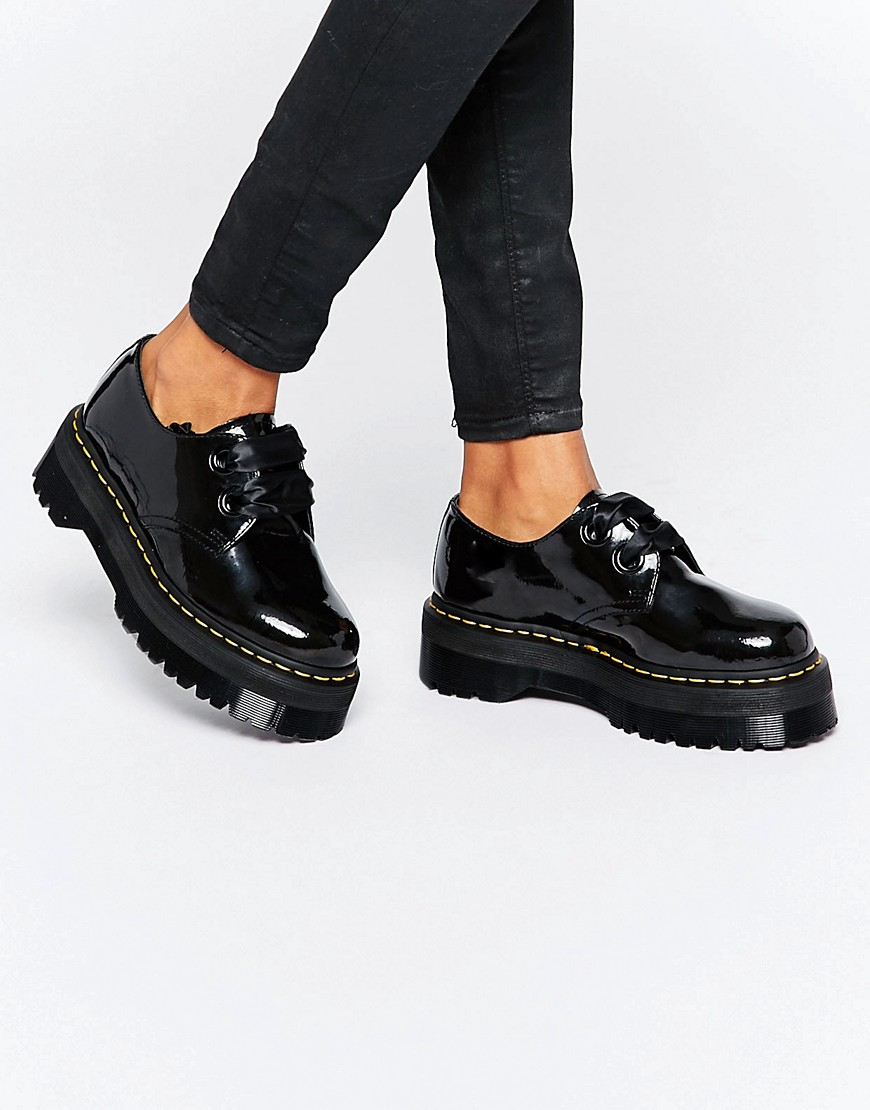 Holly Ribbon Flatform Shoes