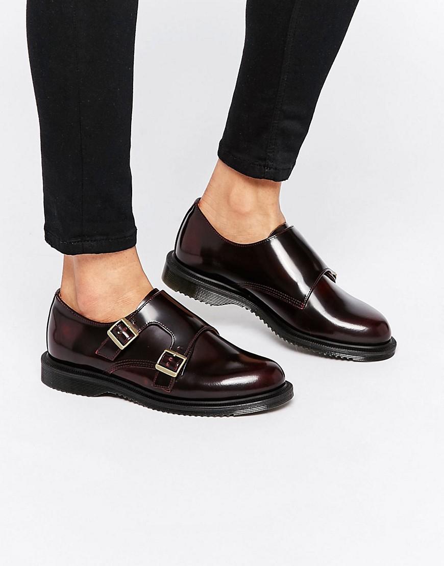 Dr Martens Buckle Shoe Mens