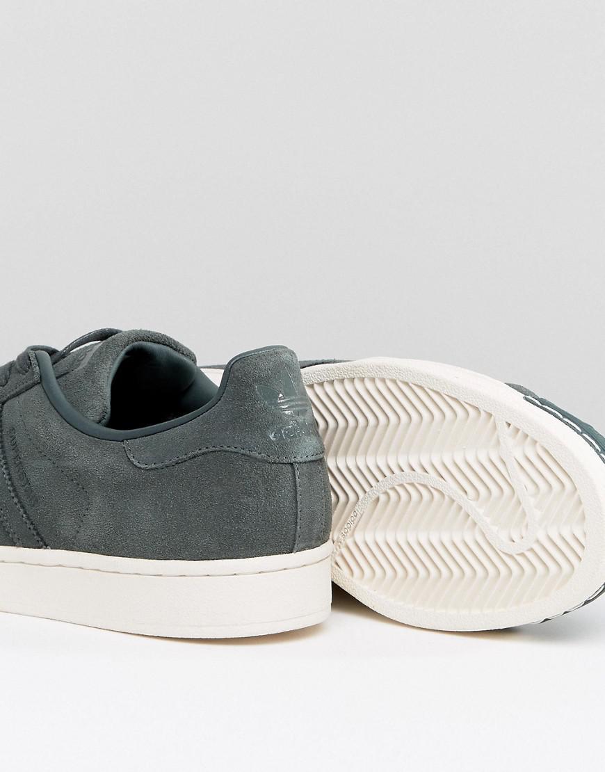 09dac2857dca33 Lyst - adidas Originals Superstar Sneakers In Green Bz0200 in Green ...