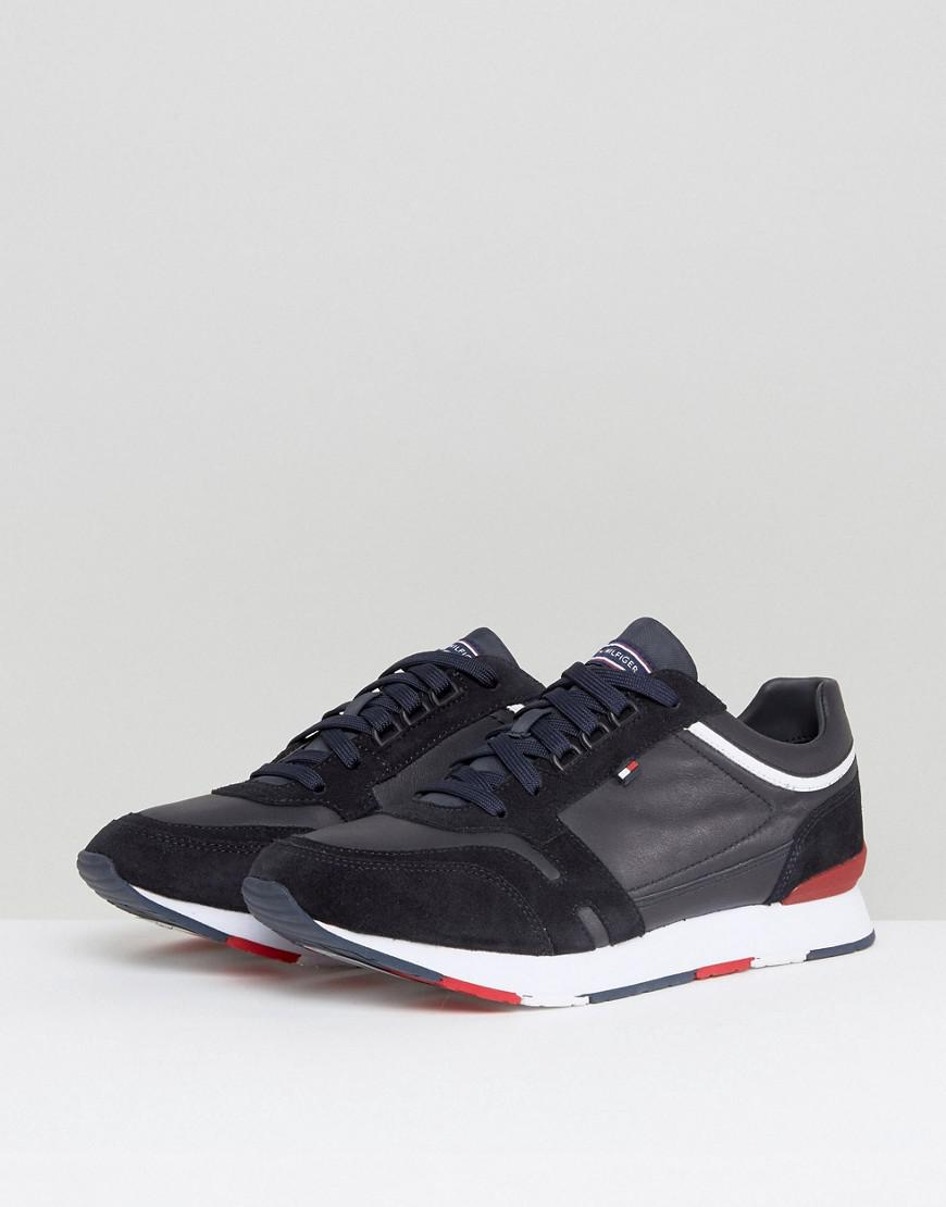 Tommy Hilfiger Leather Leeds Trainer In