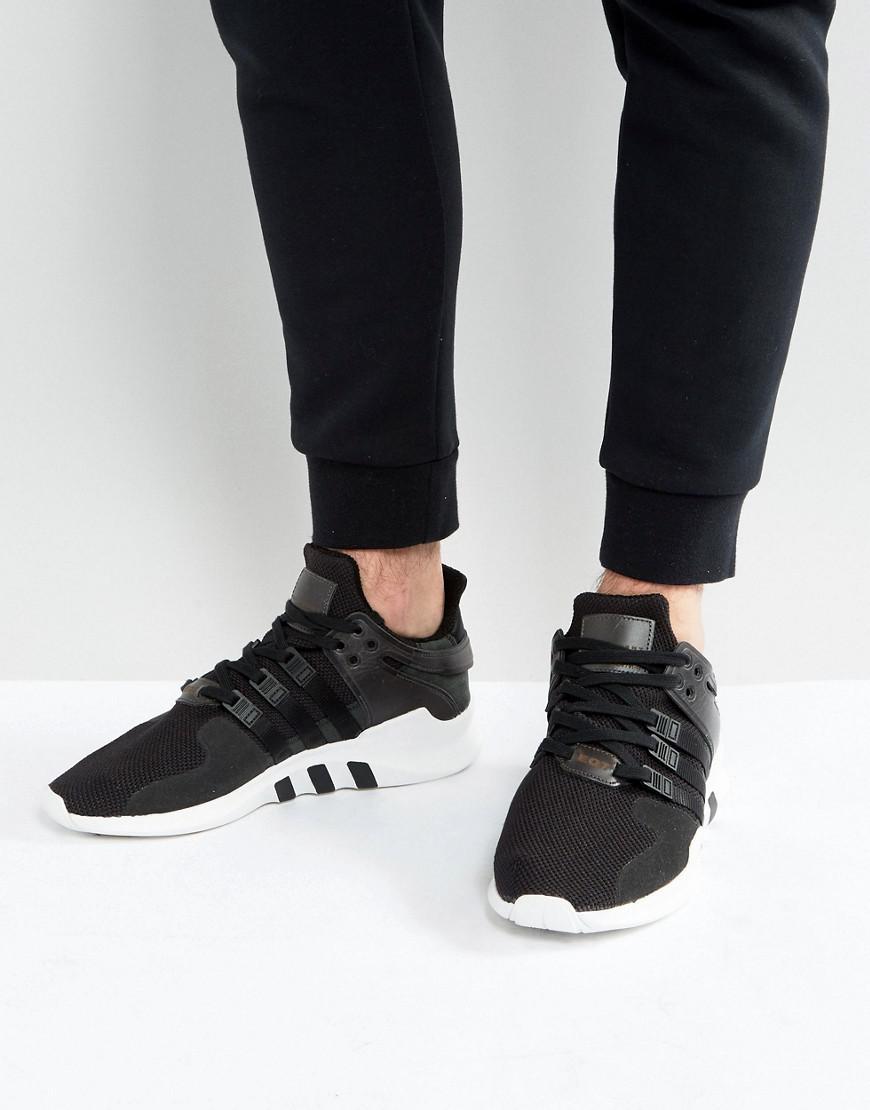 adidas Originals Eqt Support Advance Sneakers In Black Bb1295 in ... 09d99f9e1822