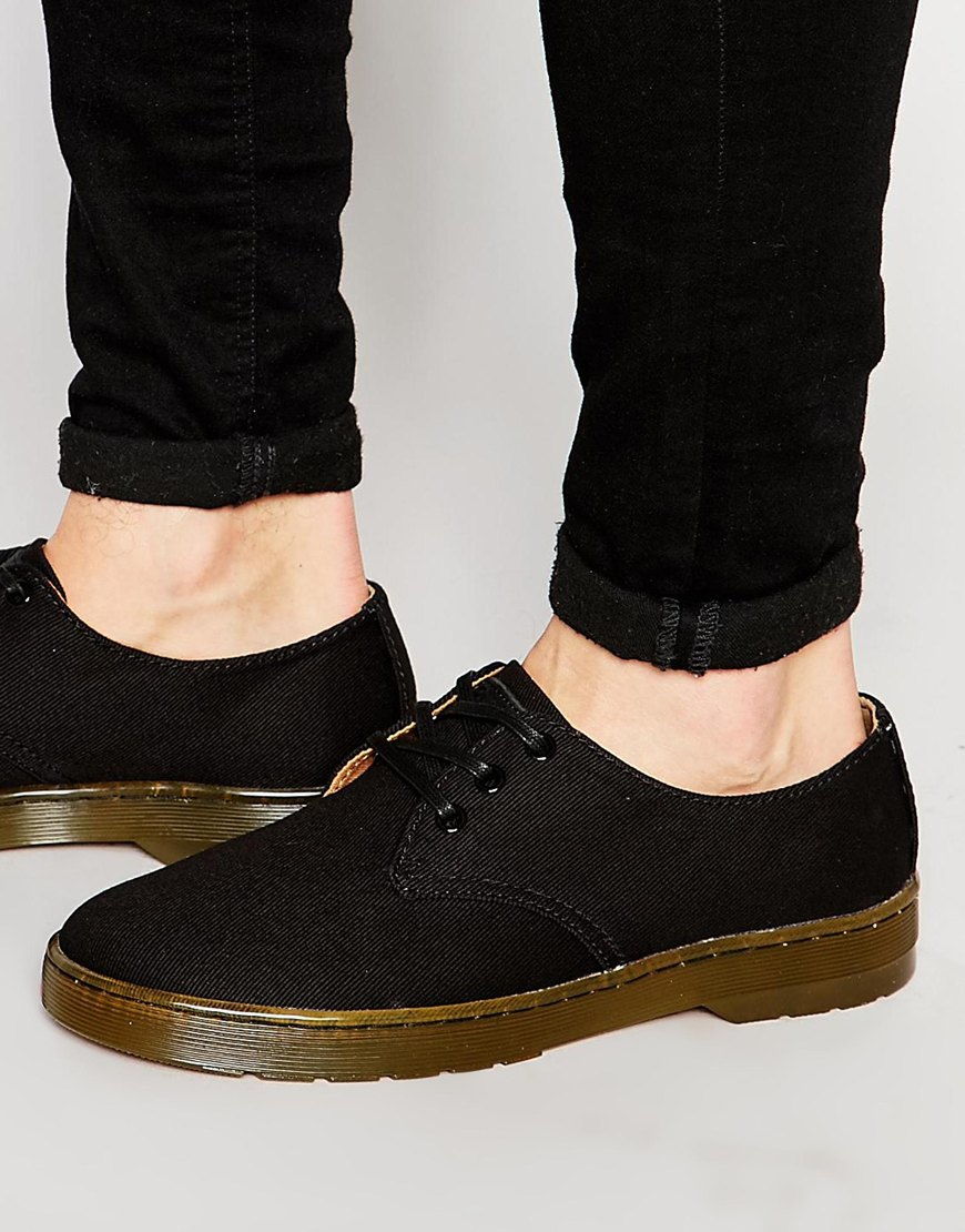 Dr. Martens Delray Canvas Shoes in