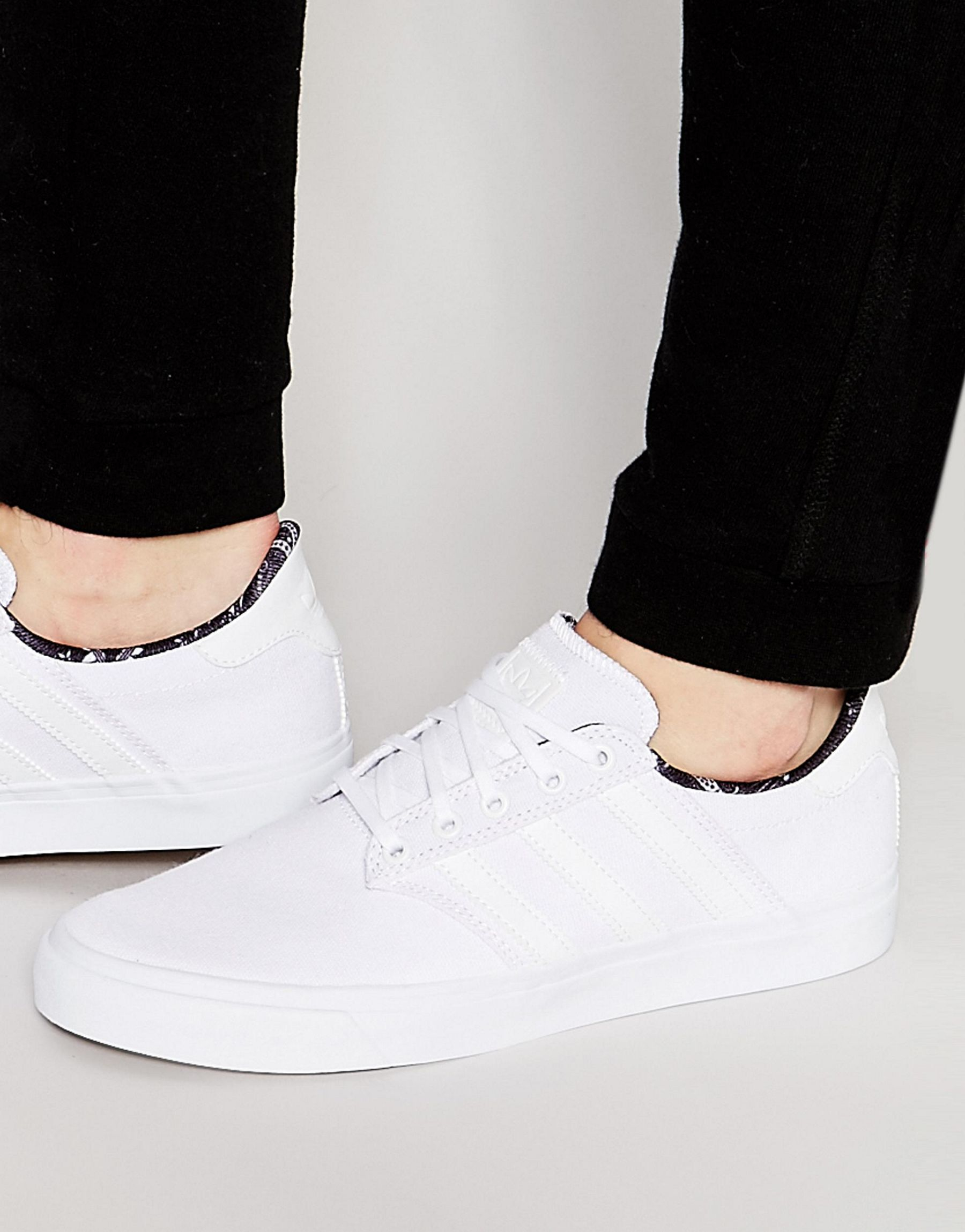 a47177851f6 Lyst - adidas Originals Seeley Ii Sneakers F37719 in White for Men