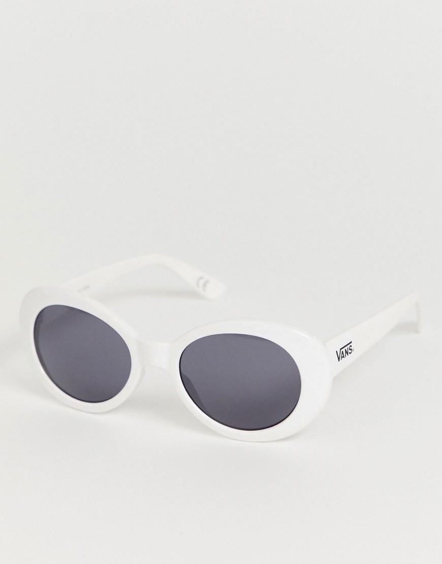 6c117b7a4 Vans Round Sunglasses In White in White for Men - Lyst